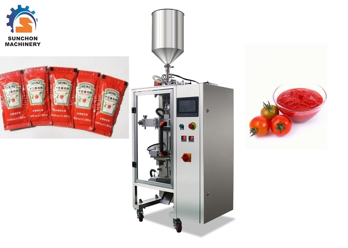 High Efficient Paste Packing Machine 1 - 80ML Measurement Volume Rang