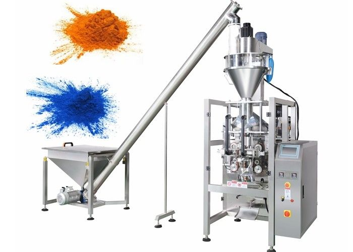 Vertical Powder Bagging Machine , Auger Filler Coffee Powder Packing Machine