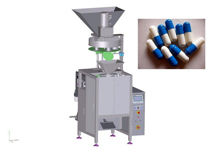 Automated Capsule Granule Packing Machine 50 - 1000ml Filing Volume